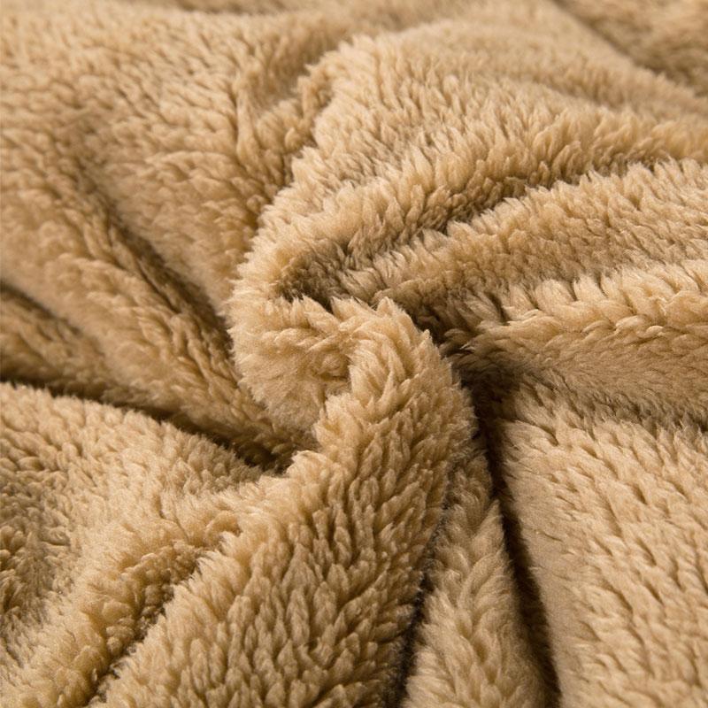 Chăn lông cừu Hồng Nekio